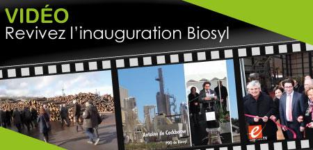 L'inauguration de l'éco-industrie Biosyl en images !