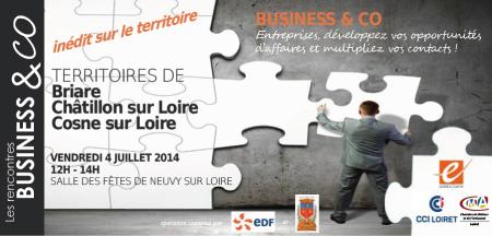 Speed Business Meeting exceptionnel à Neuvy-sur-Loire !