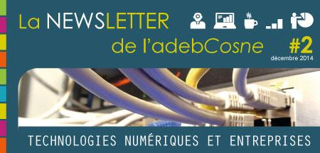 Deuxième numéro de la NEWSletter de l'adebCosne.