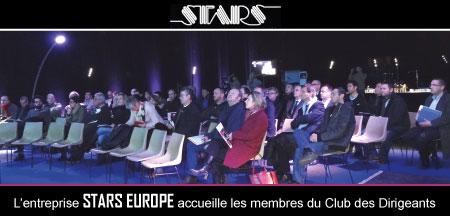 Les chefs d'entreprise cosnois découvrent l'entreprise Stars Europe de Briare