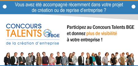 Lancement de la 17 ème édition du Concours Talents BGE.