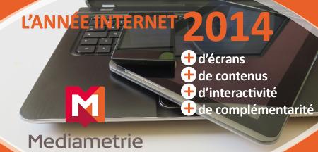 Médiamétrie : les Français et Internet en 2014