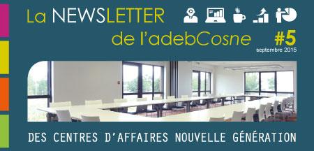 Découvrez la newsletter de l'adebCosne n°5 !