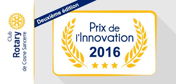 Concourez pour le Prix de l'Innovation 2016 !