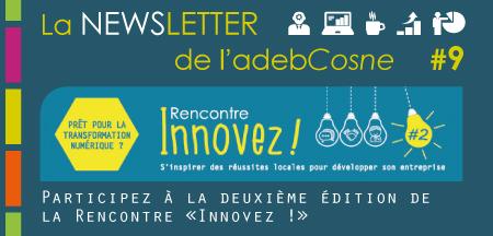 """NEWSletter n°9 : deuxième édition de la Rencontre """"Innovez !"""""""