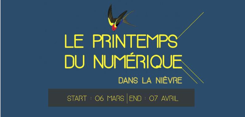 Le Printemps du Numérique s'installe dans la Nièvre !