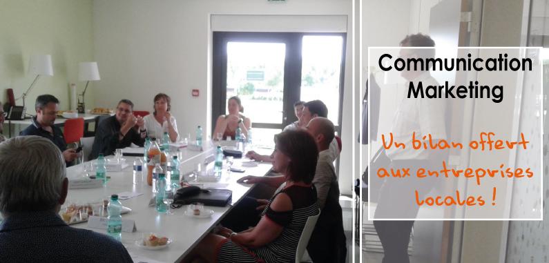 Un bilan communication et marketing offert aux entreprises locales !