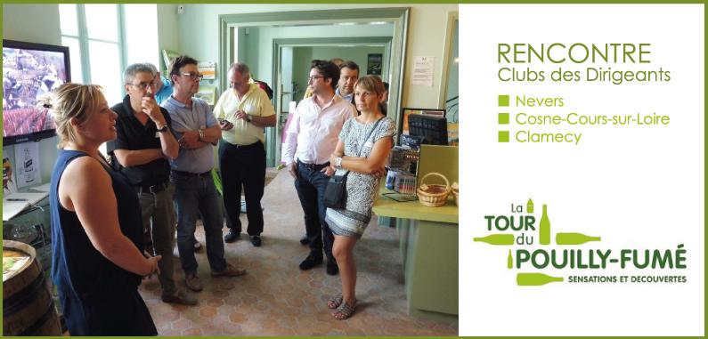 62 chefs d'entreprises réunis à Pouilly-sur-Loire !