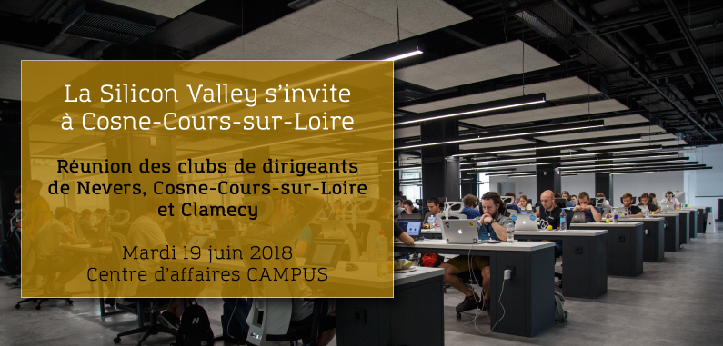La Silicon Valley s'invite à Cosne-Cours-sur-Loire