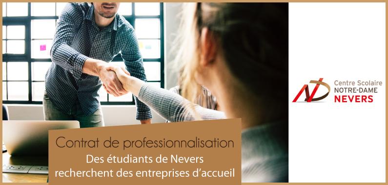 Les alternants en licence Droit, Économie et Gestion de Nevers recherchent des entreprises d'accueil !
