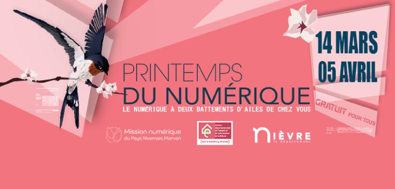 Le Printemps du numérique fait escale à Cosne-Cours-sur-Loire !
