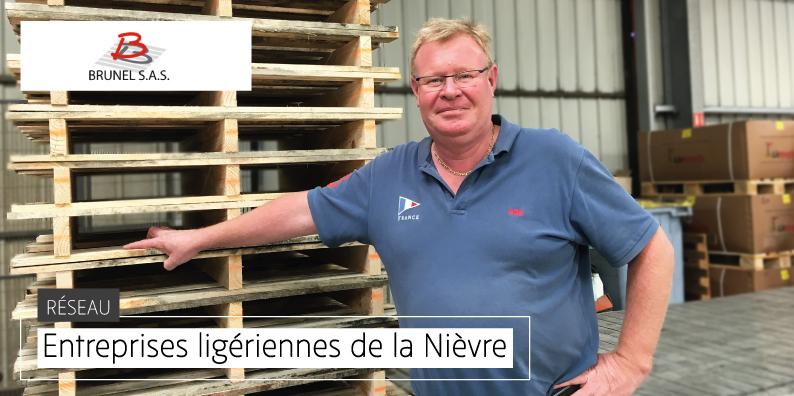BRUNEL : spécialiste de la fabrication de palettes de manutention