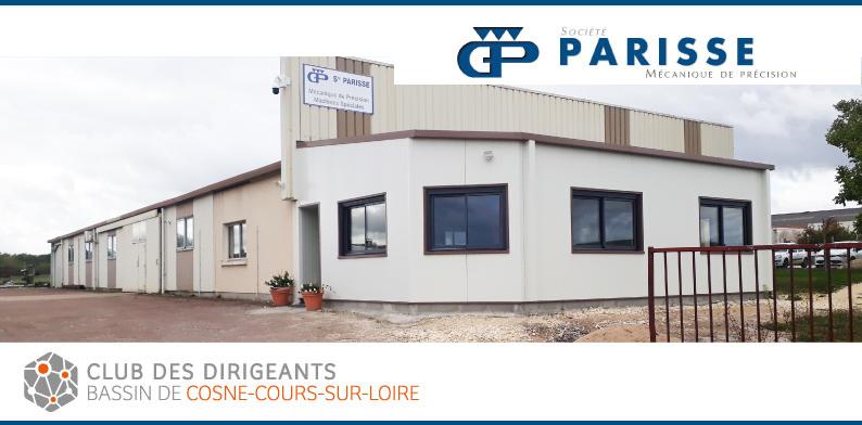 Club des dirigeants du bassin de Cosne-Cours-sur-Loire : découverte de la société Parisse