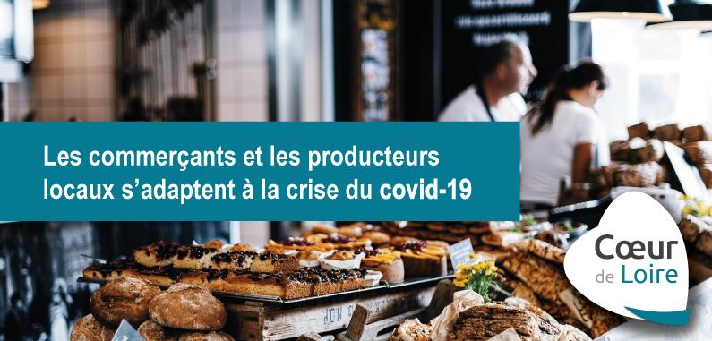 COVID-19 : liste des commerces ouverts ou effectuant des livraisons à domicile sur le territoire communautaire