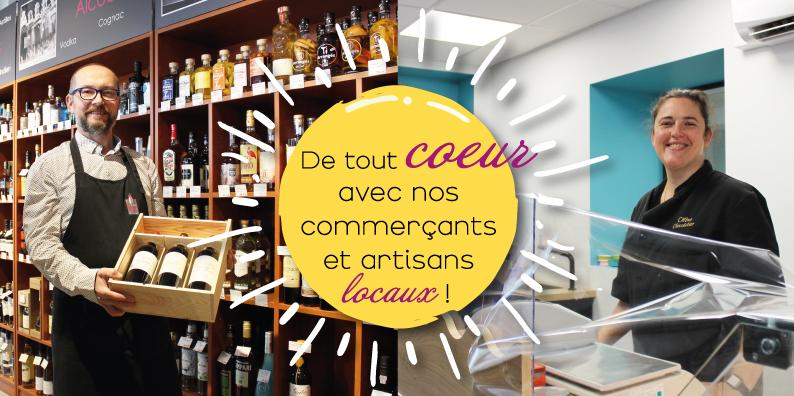 Commerçants et artisans locaux : à la rencontre d'Aurélien Vairet et Céline Robert !