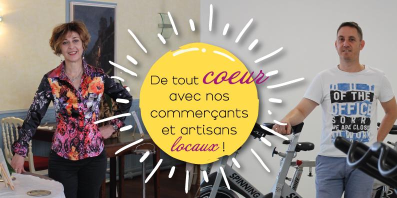 Commerçants et artisans locaux : à la rencontre d'Anne-Marie Mercier et Yoann Lebroc !