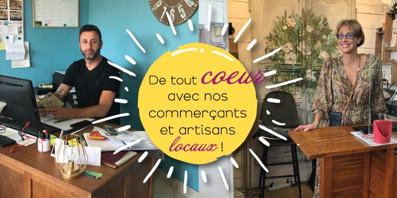 Commerçants et artisans locaux : à la rencontre de Mathias Gaujour et Karine Petit !