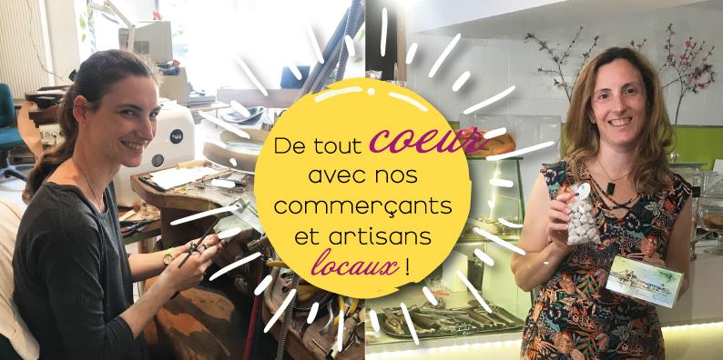 Commerçants et artisans locaux : à la rencontre de Clémentine Juigner et Nathalie Ball !